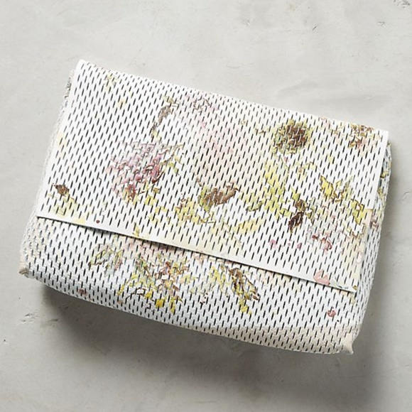 Anthropologie Handbags - Anthropologie Floral Clutch *NEW*